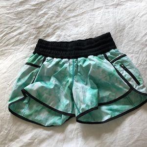 Tie Die Lululemon Running Shorts